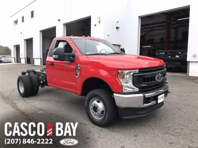 2020 Ford F-350 Regular Cab DRW 4x4, Cab Chassis #L335 - photo 1