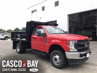 2020 Ford F-350 Regular Cab DRW 4x4, Dump Body #L381 - photo 1