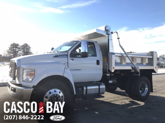 2021 Ford F-750 Regular Cab DRW 4x2, Crysteel Dump Body #M018 - photo 1
