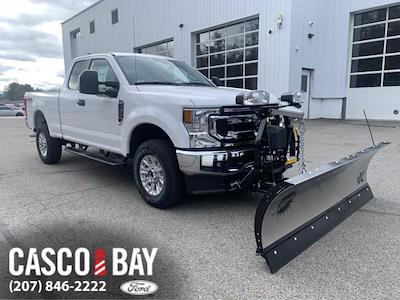 2021 Ford F-350 Super Cab 4x4, Fisher Snowplow Pickup #M059 - photo 1