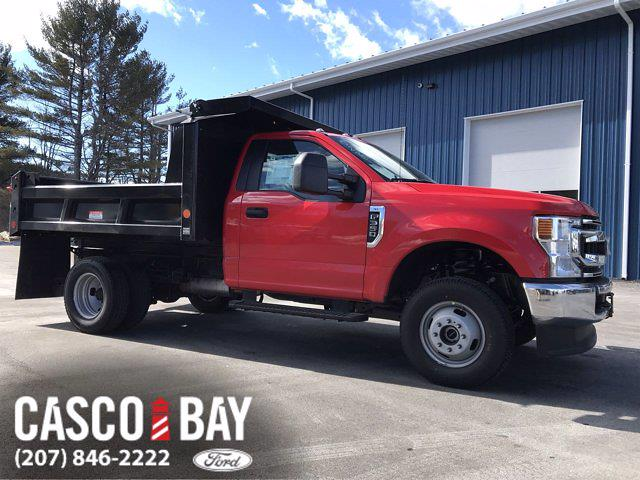 2021 Ford F-350 Regular Cab DRW 4x4, Dump Body #M194 - photo 1