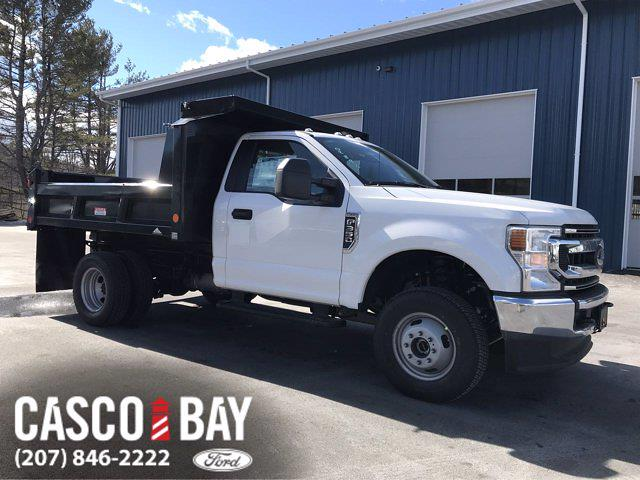 2021 Ford F-350 Regular Cab DRW 4x4, Dump Body #M195 - photo 1