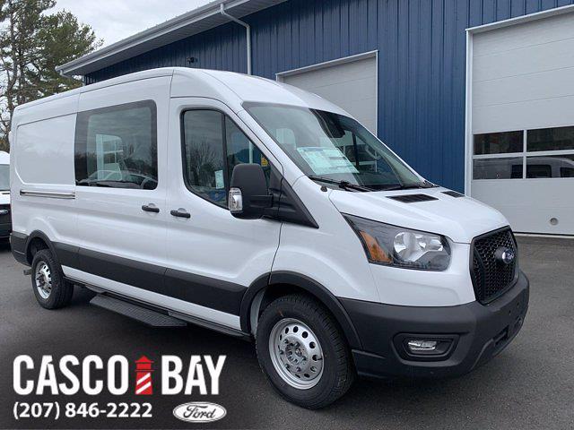 2021 Ford Transit 250 Medium Roof AWD, Crew Van #M327 - photo 1