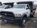 2016 Ram 5500 Regular Cab DRW 4x4, Iroquois Dump Body #T16264 - photo 1