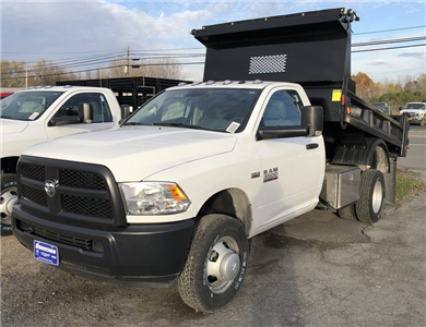 2017 Ram 3500 Regular Cab DRW 4x4, Dump Body #T17262 - photo 1