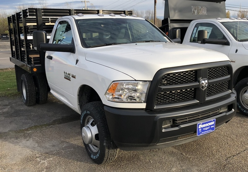 2017 Ram 3500 Regular Cab DRW 4x4, Reading Stake Bed #T17297 - photo 4