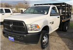 2017 Ram 3500 Regular Cab DRW 4x4, Reading Stake Bed #T17297 - photo 1
