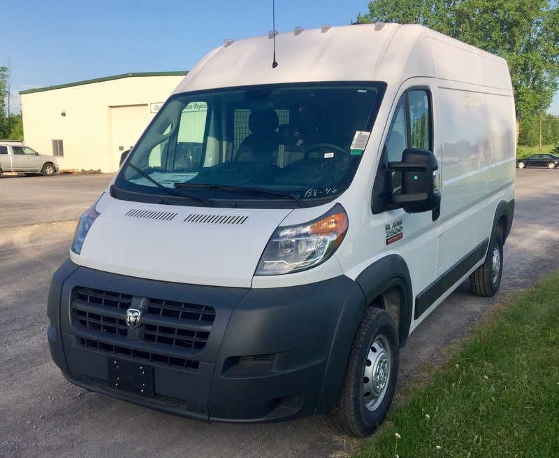 2018 ProMaster 2500 High Roof FWD,  Ranger Design Mobile Service Upfitted Cargo Van #T18207 - photo 1