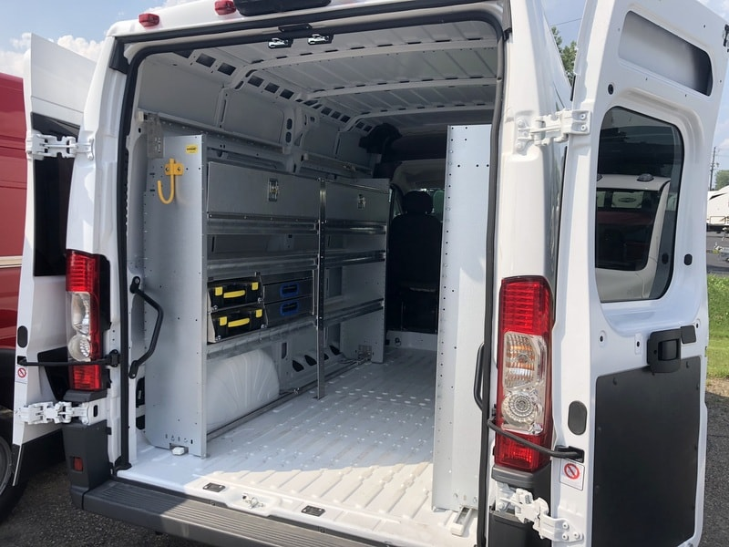 2018 ProMaster 2500 High Roof FWD,  Ranger Design Mobile Service Upfitted Cargo Van #T18207 - photo 14