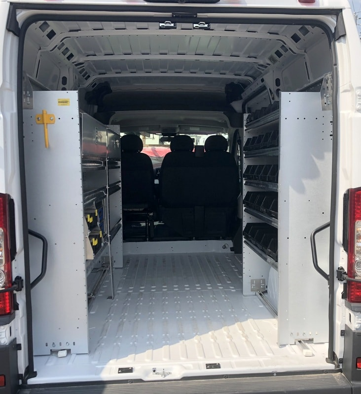 2018 ProMaster 2500 High Roof FWD,  Ranger Design Mobile Service Upfitted Cargo Van #T18207 - photo 2
