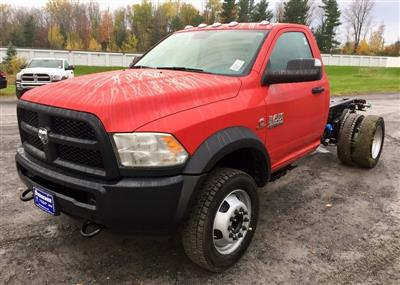 2018 Ram 5500 Regular Cab DRW 4x4,  Cab Chassis #T18304 - photo 1
