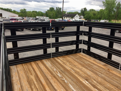 2018 Ram 3500 Regular Cab DRW 4x4,  Reading Redi-Rack Stake Bed #T1864 - photo 14