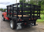 2018 Ram 3500 Regular Cab DRW 4x4,  Reading Redi-Rack Stake Bed #T1864 - photo 2