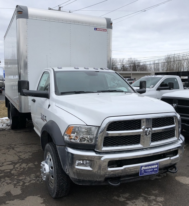 2018 Ram 5500 Regular Cab DRW, Morgan Dry Freight #T1878 - photo 4