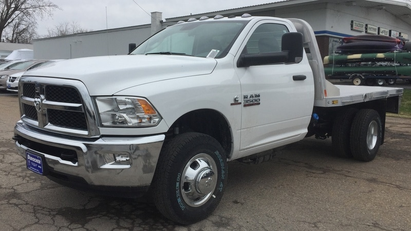 2018 Ram 3500 Regular Cab DRW 4x4,  CM Truck Beds RD Model Platform Body #T1898 - photo 1