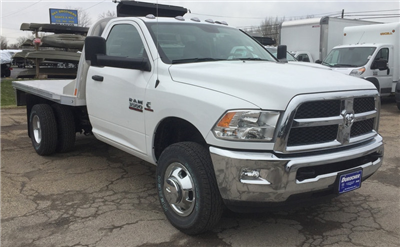 2018 Ram 3500 Regular Cab DRW 4x4,  CM Truck Beds RD Model Platform Body #T1898 - photo 5