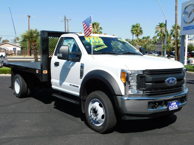 2017 F-550 Regular Cab DRW 4x2,  Knapheide Value-Master X Platform Body #J171399 - photo 3