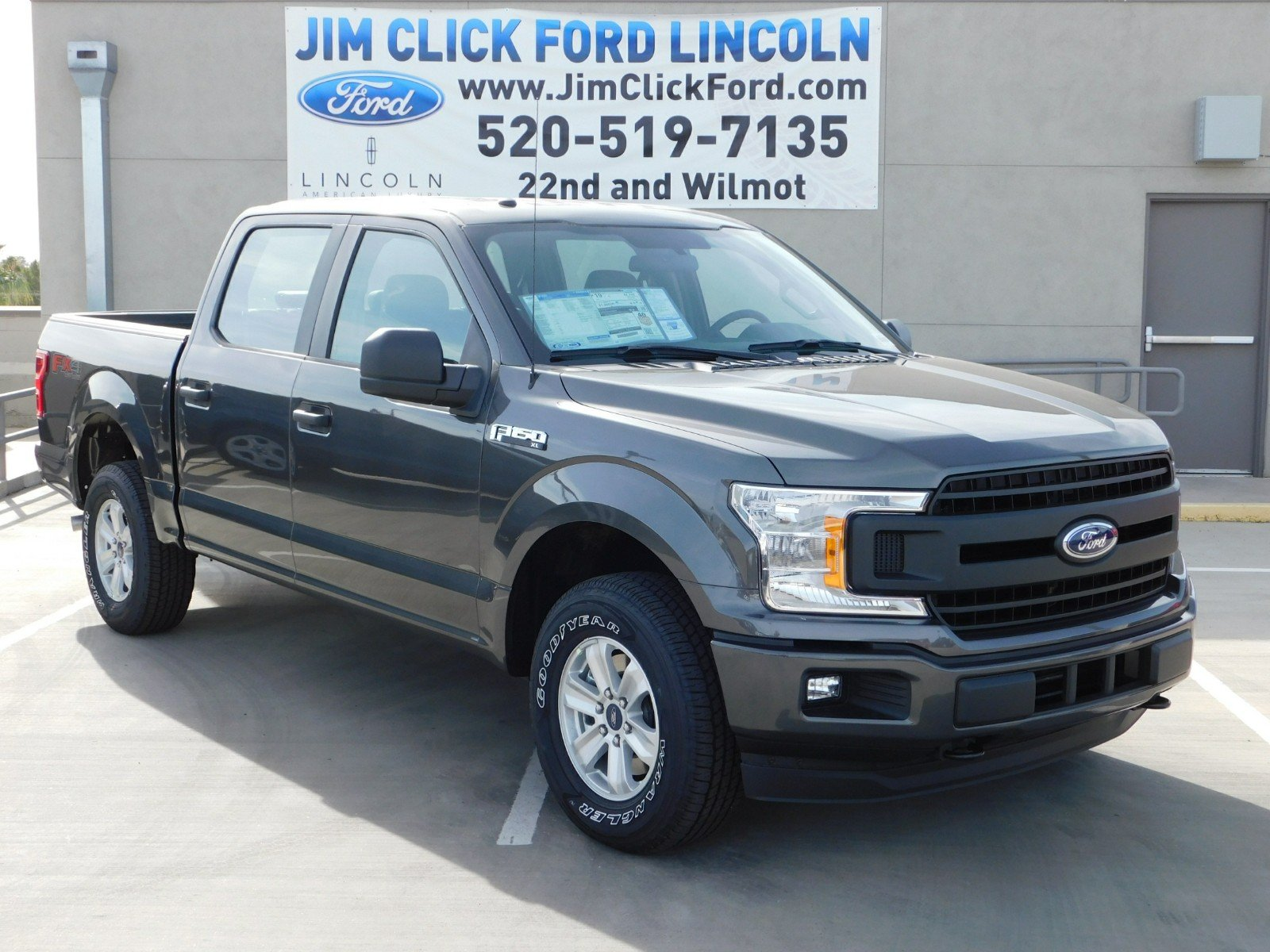 2018 F-150 Crew Cab 4x4 Pickup #J180177 - photo 1
