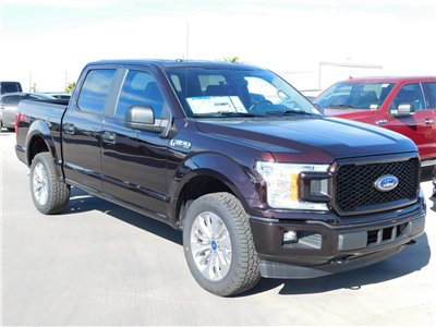 2018 F-150 Crew Cab 4x4, Pickup #J180489 - photo 1