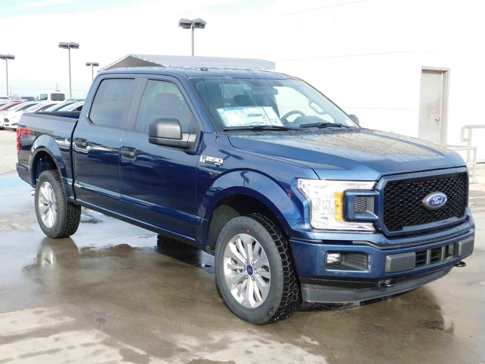 2018 F-150 Crew Cab 4x4, Pickup #J180605 - photo 1