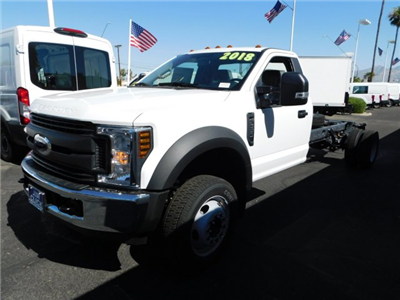 2018 F-550 Regular Cab DRW 4x2,  Cab Chassis #J181059 - photo 1