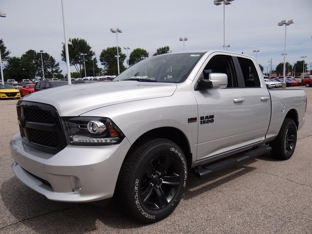 2018 Ram 1500 Quad Cab 4x4,  Pickup #ND7687 - photo 14