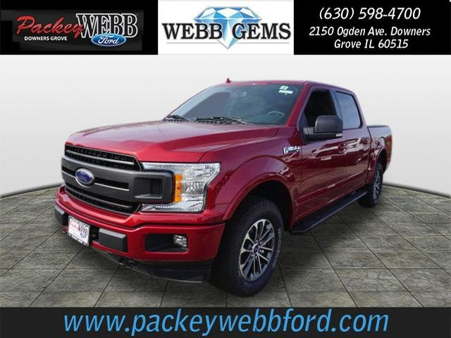2018 F-150 Crew Cab 4x4 Pickup #18T1117 - photo 1