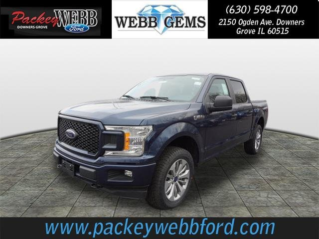 2018 F-150 Crew Cab 4x4 Pickup #18T1256 - photo 1
