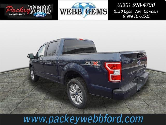 2018 F-150 Crew Cab 4x4 Pickup #18T1256 - photo 2