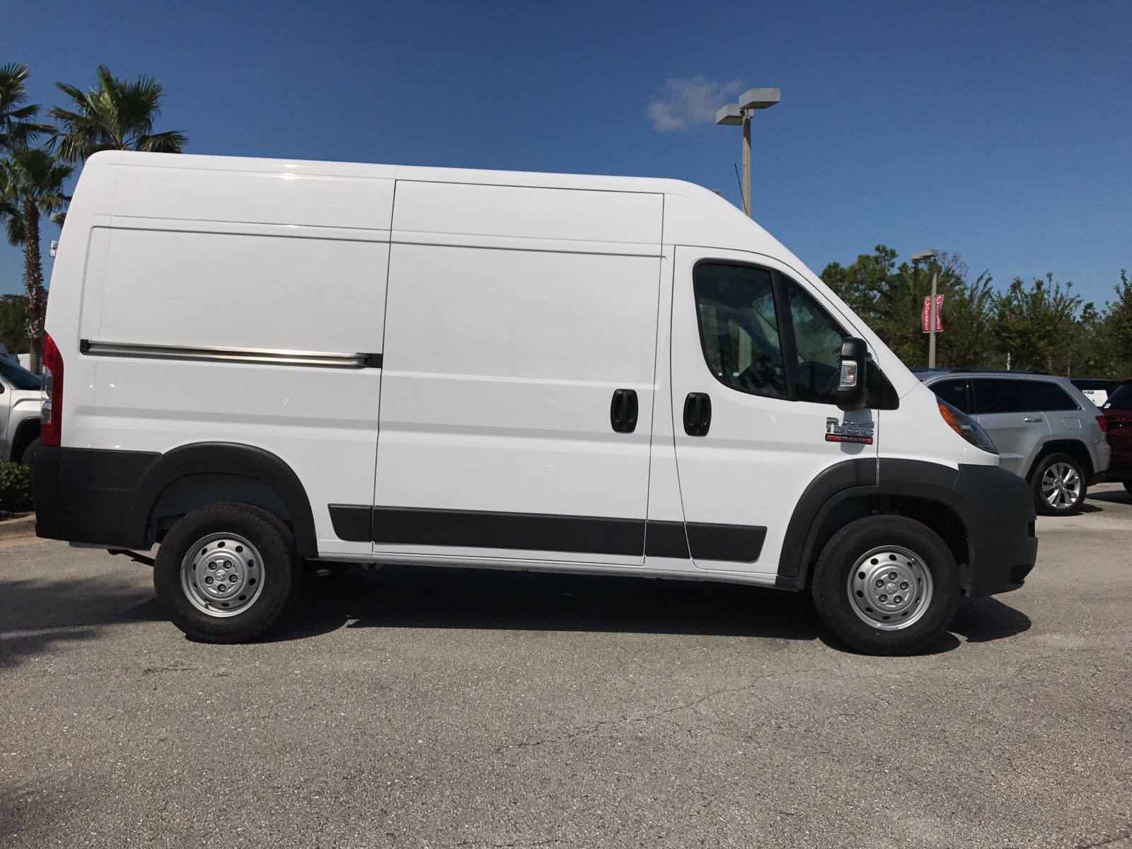 2018 ProMaster 1500 High Roof 4x2,  Empty Cargo Van #R18003 - photo 4