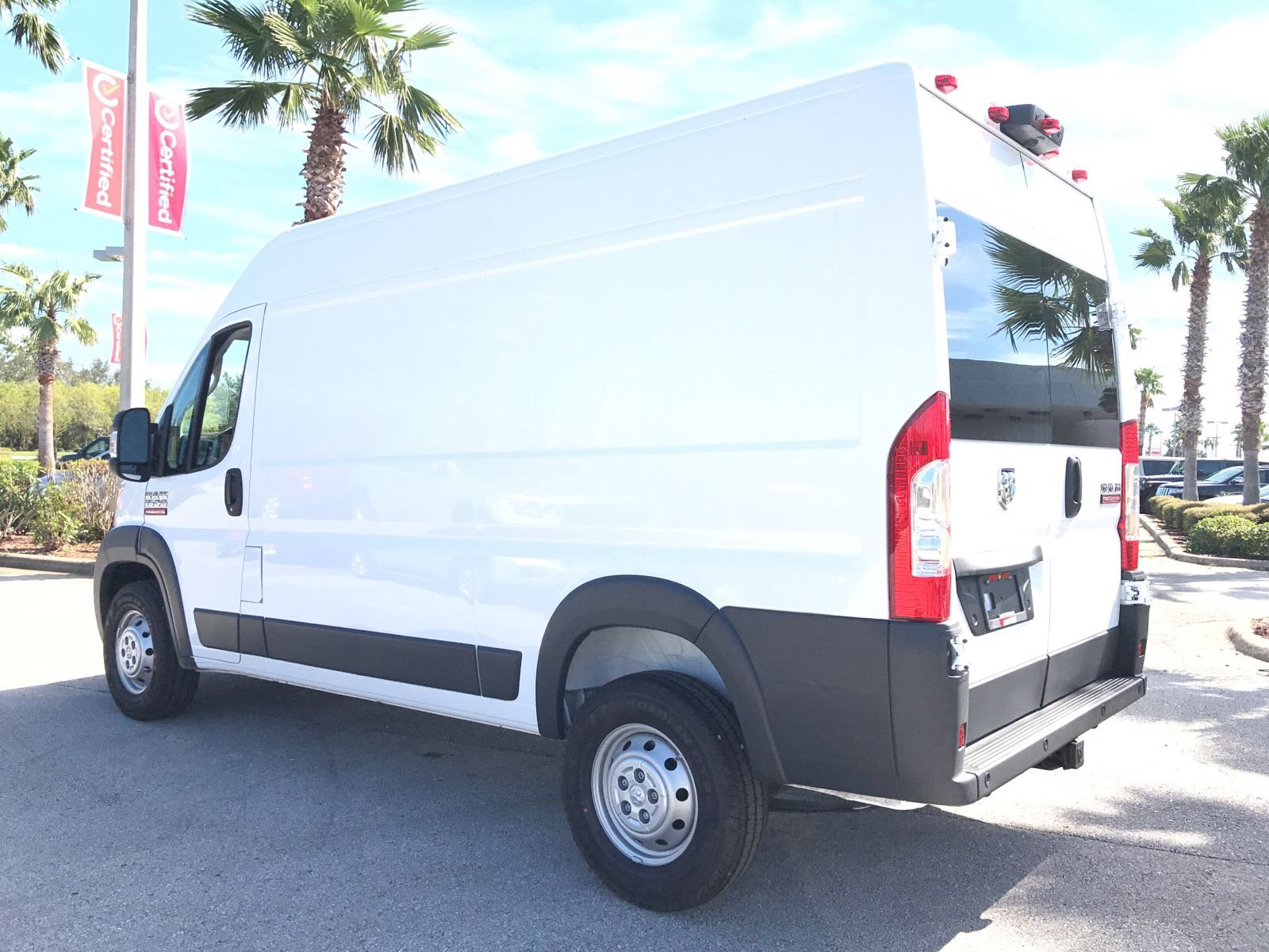 2018 ProMaster 1500 High Roof 4x2,  Empty Cargo Van #R18003 - photo 7