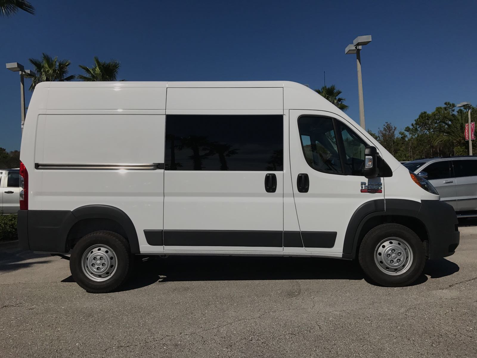 2018 ProMaster 1500 High Roof 4x2,  Empty Cargo Van #R18007 - photo 4