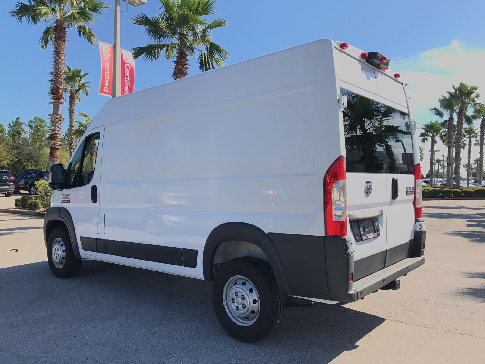 2018 ProMaster 1500 High Roof 4x2,  Empty Cargo Van #R18007 - photo 7