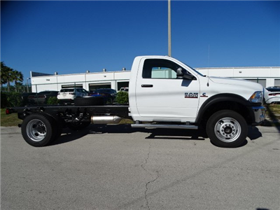 2018 Ram 5500 Regular Cab DRW 4x4,  Cab Chassis #R18326 - photo 4