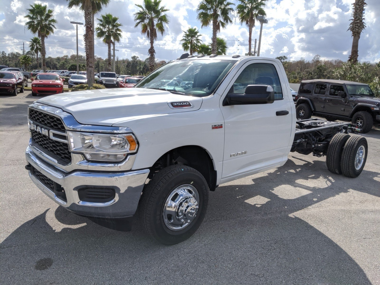 2020 Ram 3500 Regular Cab DRW 4x2, Cab Chassis #R20115 - photo 1