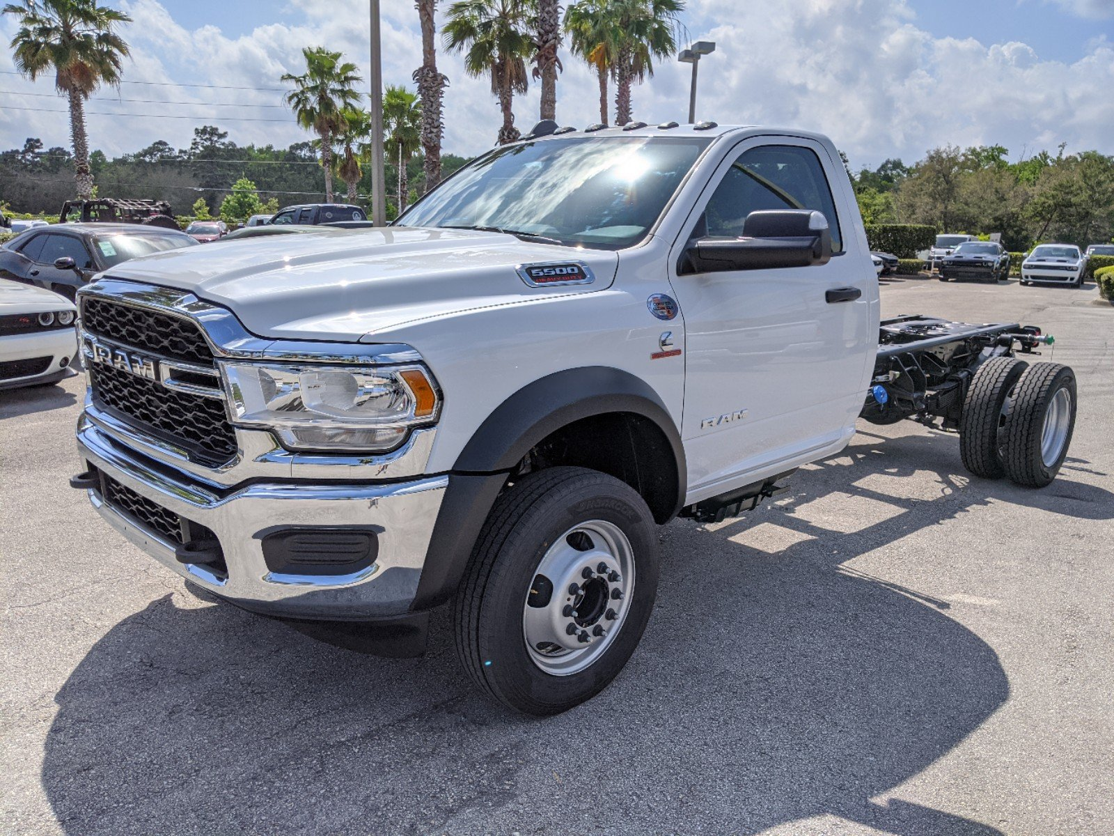 2020 Ram 5500 Regular Cab DRW 4x4, Cab Chassis #R20185 - photo 1