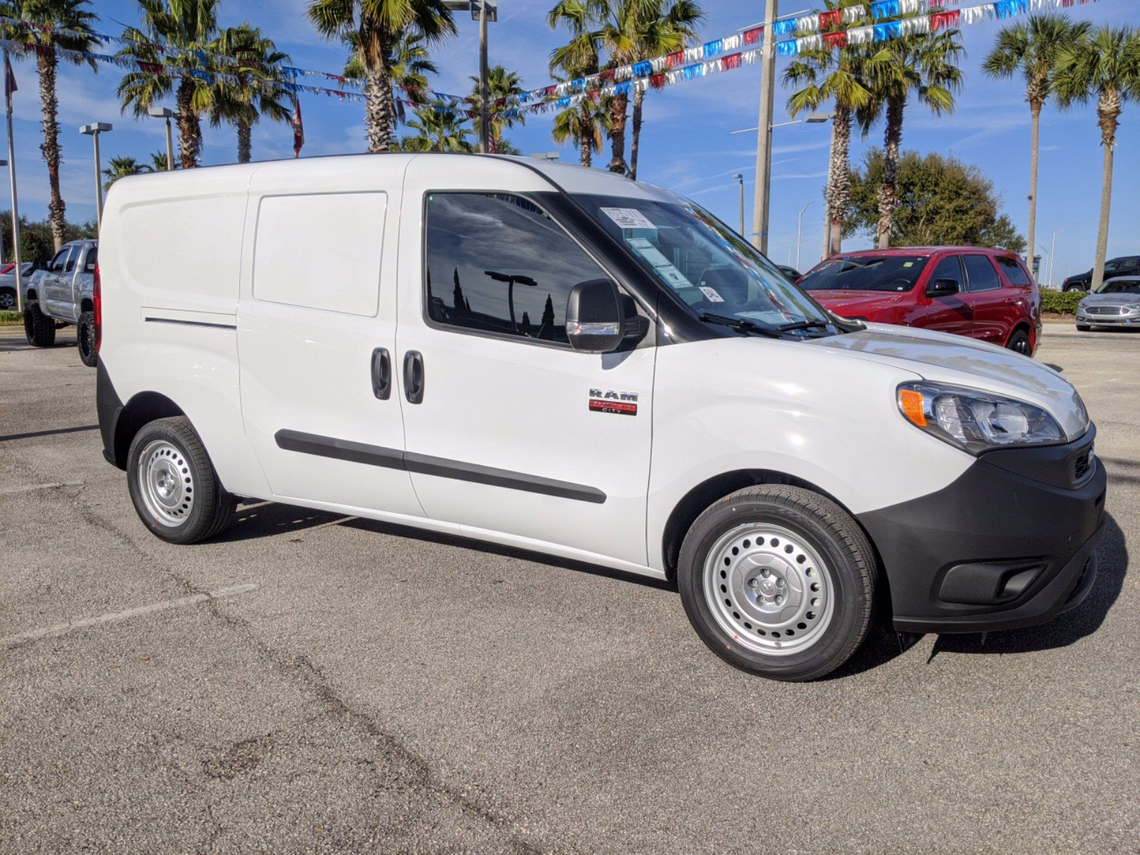 2021 Ram ProMaster City FWD, Empty Cargo Van #R21164 - photo 1