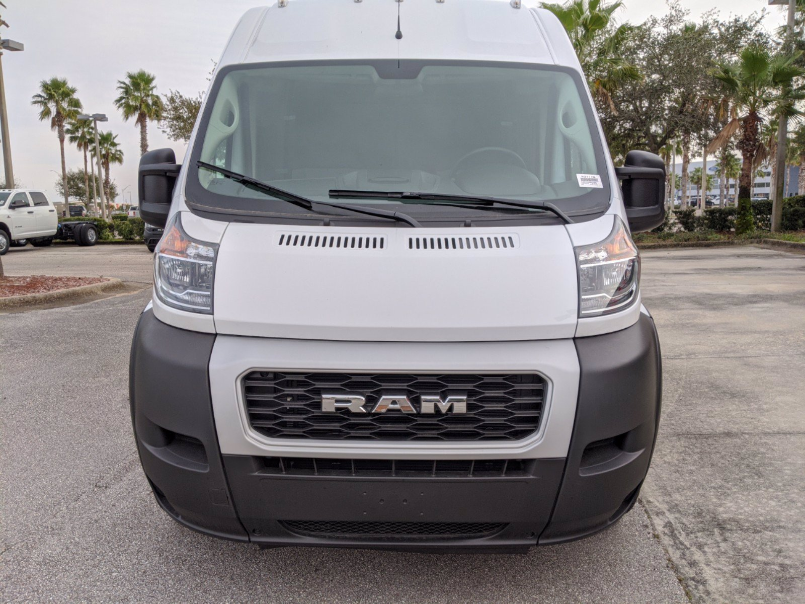 2021 Ram ProMaster 3500 FWD, Empty Cargo Van #R21178 - photo 7