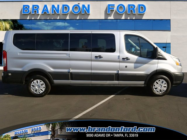2017 Transit 350 Low Roof 4x2,  Passenger Wagon #AD4602 - photo 1