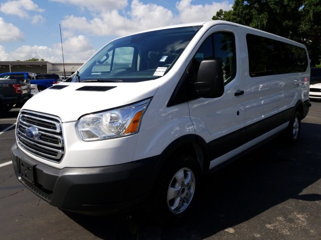 2017 Transit 350 Low Roof 4x2,  Passenger Wagon #AD4677 - photo 6