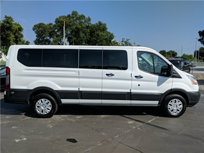 2017 Transit 350 Low Roof 4x2,  Passenger Wagon #AD4692 - photo 7