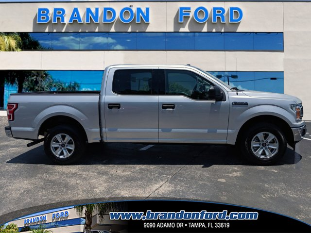 2018 F-150 SuperCrew Cab 4x2,  Pickup #AD4798 - photo 1