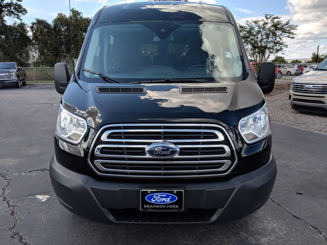 2018 Transit 350 Med Roof 4x2,  Passenger Wagon #AD5038 - photo 6