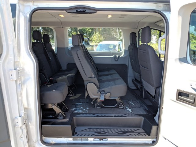 2018 Transit 350 Low Roof 4x2,  Passenger Wagon #CPO5201 - photo 11