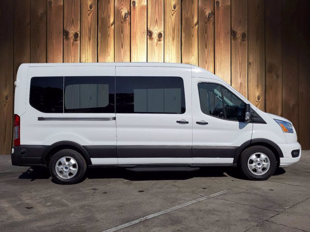 2020 Ford Transit 350 Med Roof 4x2, Passenger Wagon #CPO8020 - photo 1
