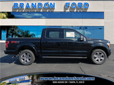 2018 F-150 Crew Cab 4x4 Pickup #J1020 - photo 1