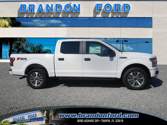 2018 F-150 Crew Cab 4x4 Pickup #J1037 - photo 1