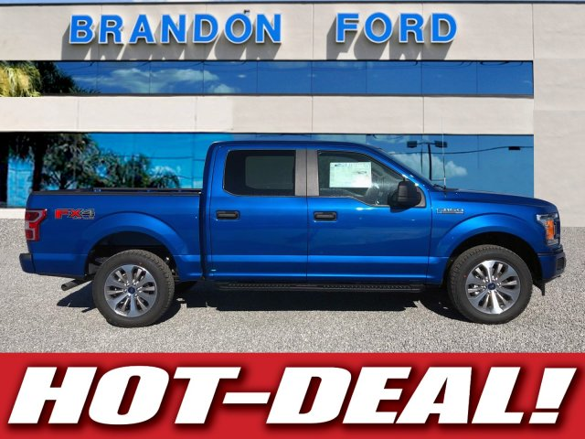 2018 F-150 Crew Cab 4x4, Pickup #J1391 - photo 1