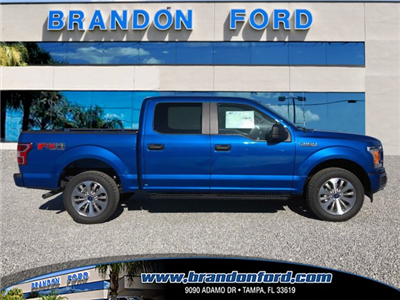 2018 F-150 Crew Cab 4x4 Pickup #J1391 - photo 1