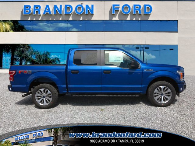2018 F-150 Crew Cab 4x4 Pickup #J1396 - photo 1